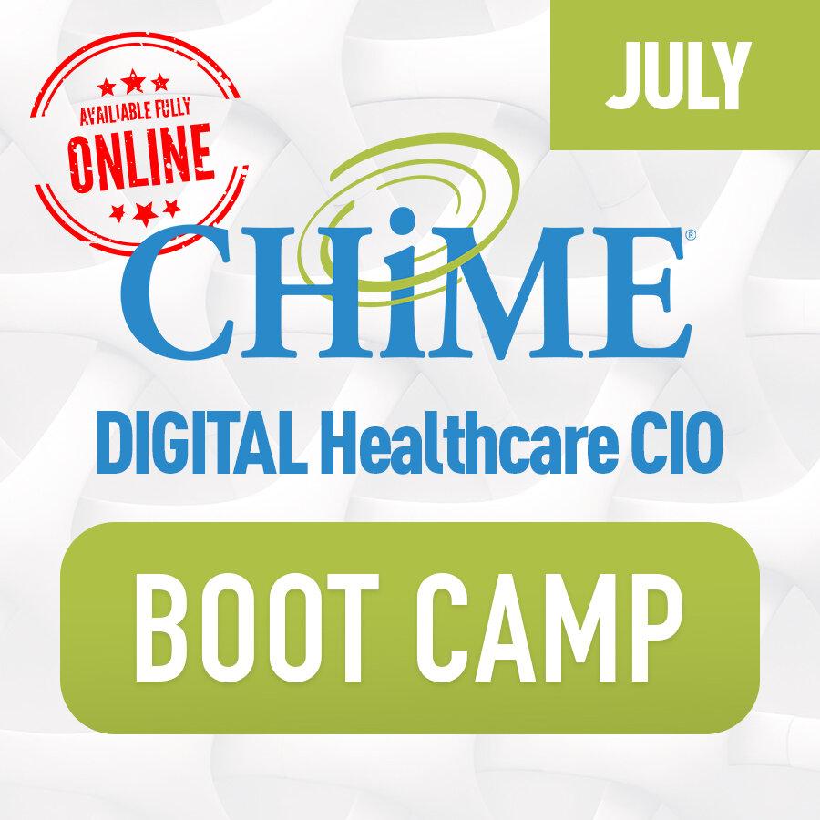 CHIME Healthcare CIO Boot Camp - Digital