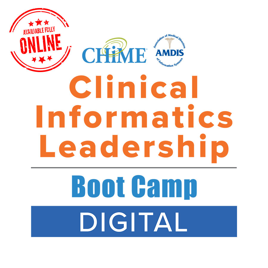Clinical Informatics Leadership Boot Camp - Digital
